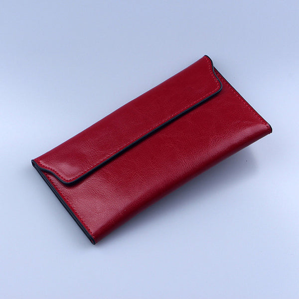SLEEK LONG PURSE