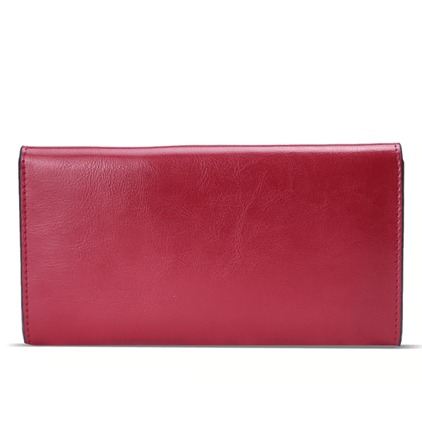 SLIM PURSE RED