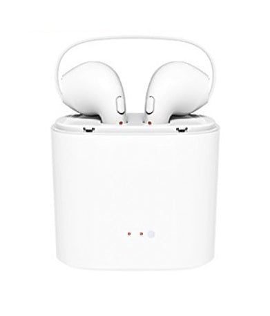Apple Earpods Bluetooth Headphones with Charging Box