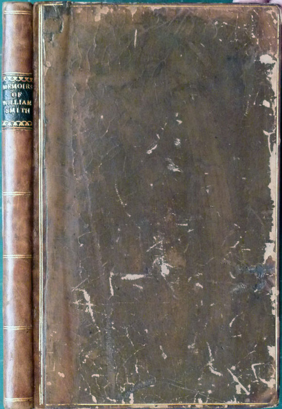 "Smith, William. Memoirs of William Smith, LL.D., Author of the ""Map of the Strata of England and Wales"", 1844"