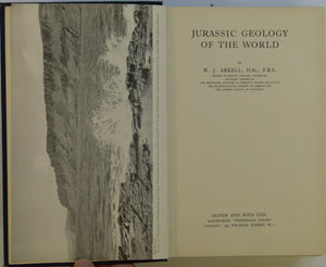 Arkell, W.J. 1956. Jurassic Geology of the World.