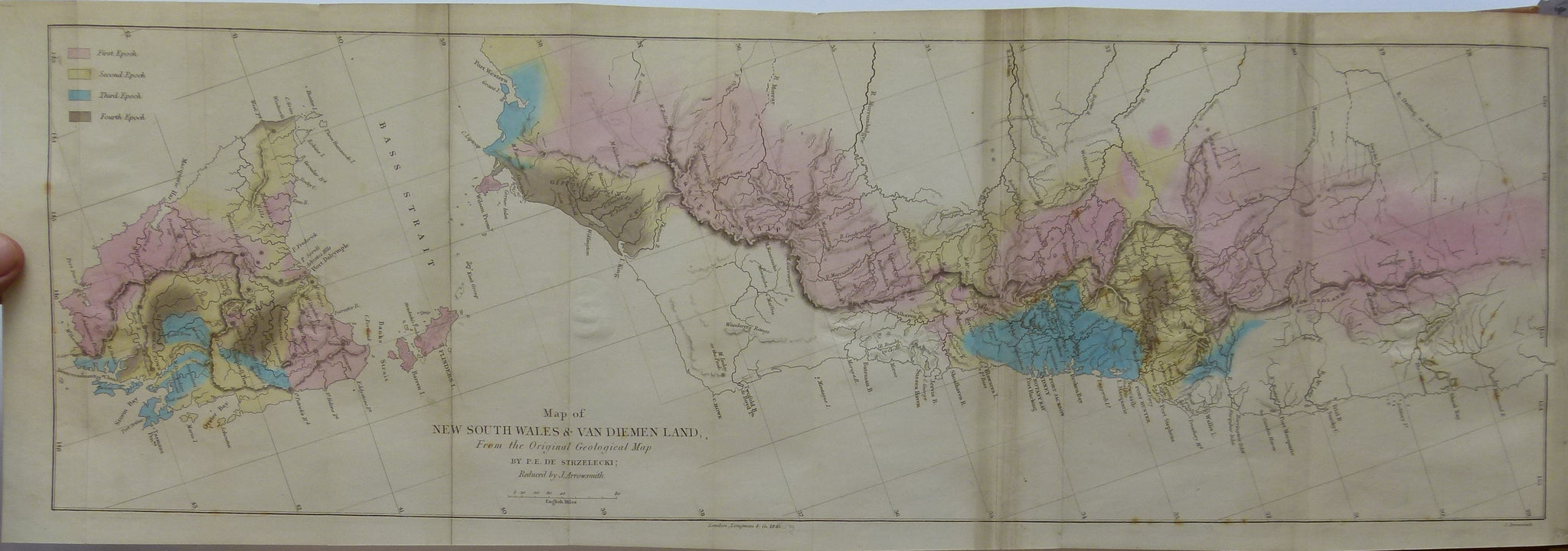 Picture of: Physical Description Of New South Wales And Van Diemen S Land Accompa 19th Century Geological Maps