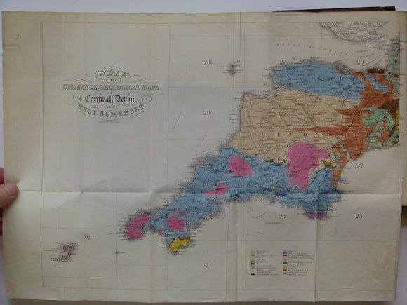Report on the Geology of Cornwall