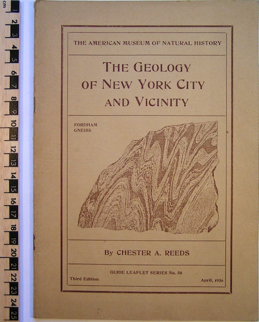 The Geology of New York City and Vicinity.