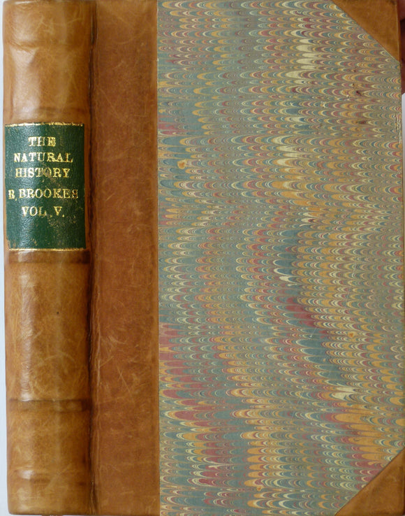 Brookes, Richard. 1772. The Natural History of Waters and Earths, of Stones, Fossils, and Minerals.