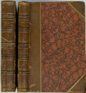 Buckland, William, 1836. Geology and Mineralogy, Considered with Reference to Natural Theology. 2 volumes, 1st edition.