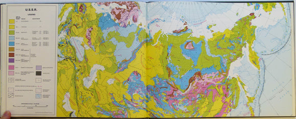 Derry Duncan Et Al 1980 World Atlas Of Geology And Mineral