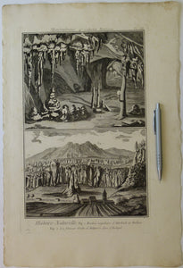 Diderot & d'Alembert (1768) 'Mineralogy, 4th collection. Mountains, plate 3 (p.137) from Encylopedie, v23. Copperplate engraving