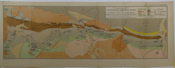 Dixey, Frank, et al. (1917). Two maps – of the Carboniferous Limestone Series between the Ewenny Valley and Ebbw Valley',