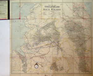 Map of the Coalfields3 of the North Midlands