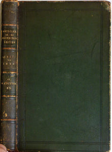 Fitton, William. A sammelband volume of his Articles published in the Edinburgh Review 1856.