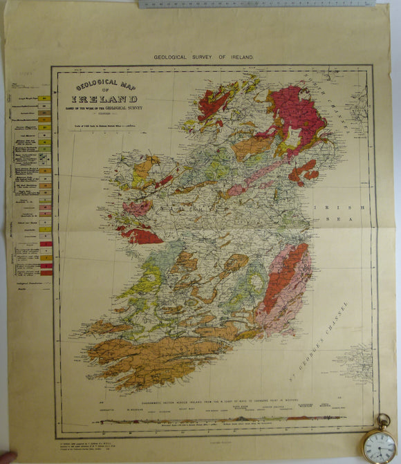 Geological Map of Ireland, 1952