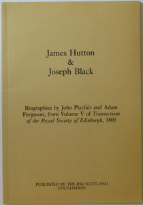 Hutton, James. (1997). James Hutton & Joseph Black, Biographies by John Playfair and Adam Ferguson