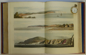 Isle of Wight, 1816, first detailed county geological map in Great Britain