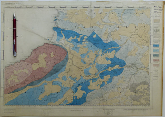 "Ireland sheet 151, Listowel, 1"" scale. 1881. Includes mouth of the Shannon, south side. Base map not dated. Hand-coloured"