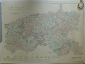 Glacial Drift Map of Co. Limerick Geology Map. 1966. Geological Survey of Ireland.