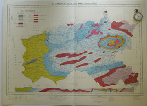 Co. Limerick Geology Map. 1969. Ordnance Survey of Ireland