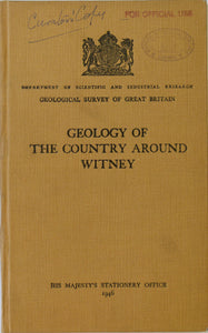 Sheet Memoir 236. Witney, by Richardson, L. et al. 1946, 1st edition.