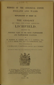 Sheet memoir 154, Lichfield, the Geology of the Country. 1919.