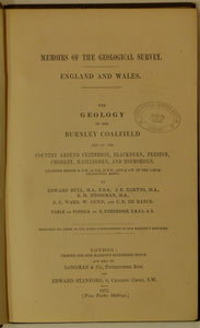 Lancashire. The Geology of the Burnley Coalfield and of the country around Clitheroe, Blackburn, Preston…