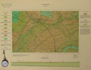 Sheet 38-I, 1:50,000. Gorinchem, 1936