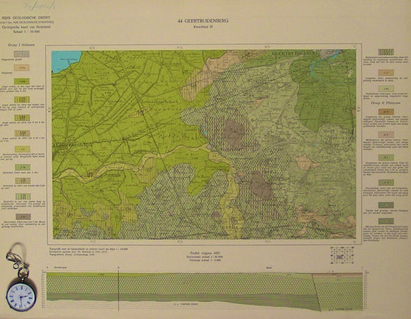 Sheet 46-I, 1:50,000. Vierlingsbeek, 1935