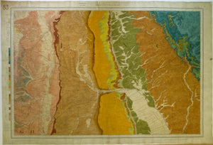 "Sheet  83 Drift, Old Series 1"". 1886. First edition. Lincolnshire: Lincoln. Topography 1824,"