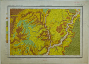 "Sheet  52nw drift, Old Series 1"". 1870. Northamptonshire Wellingborough, Thrapston, Earls Barton. Topography 1836"