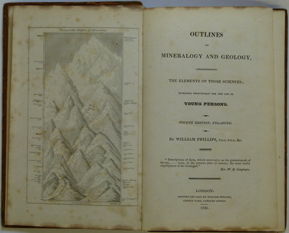 Phillips, William. 1826. Outlines of Mineralogy and Geology, Comprehending the Elements of those Sciences