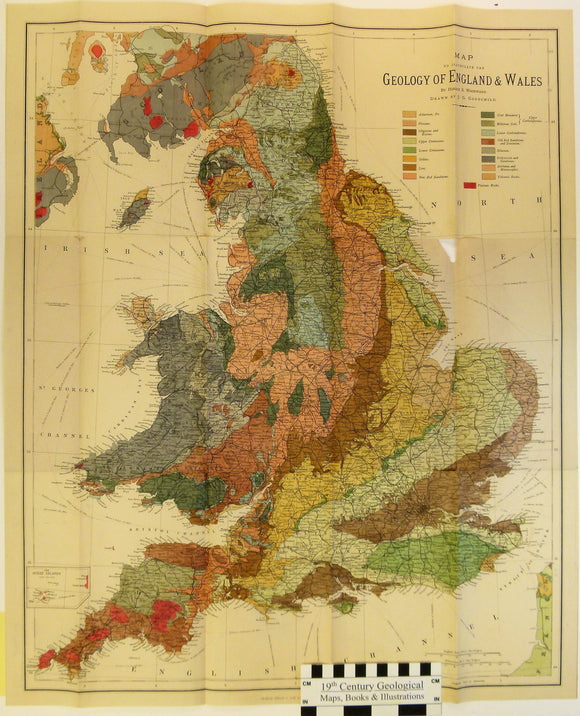 Woodward, Horace B. 1887. The Geology of England and Wales; with Notes on the Physical Features