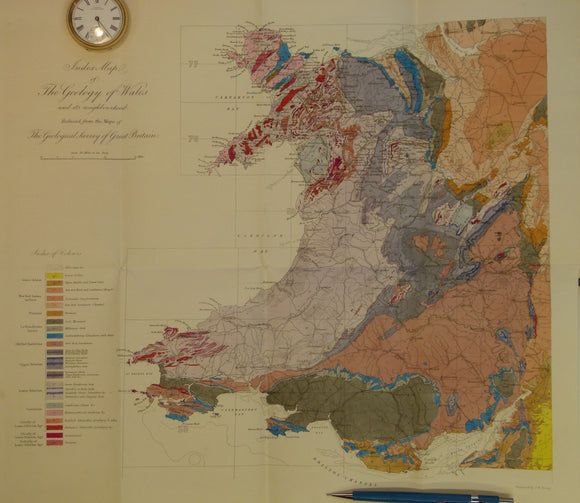 Memoirs of the Geological Survey of GB, v3, 1866. 'The Geology of North Wales'