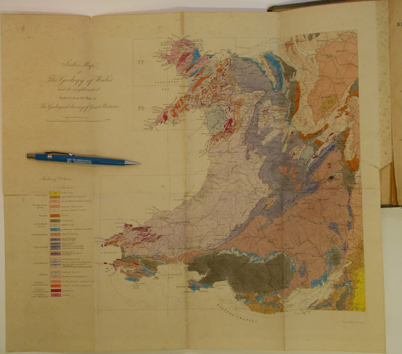 Memoirs of the Geological Survey of GB, v3, 1881.2nd edition.'The Geology of North Wales'