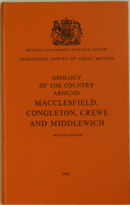 Sheet Memoir 110. Macclesfield, Congleton, Crewe and Middlewich, by Evans, WB. et al.
