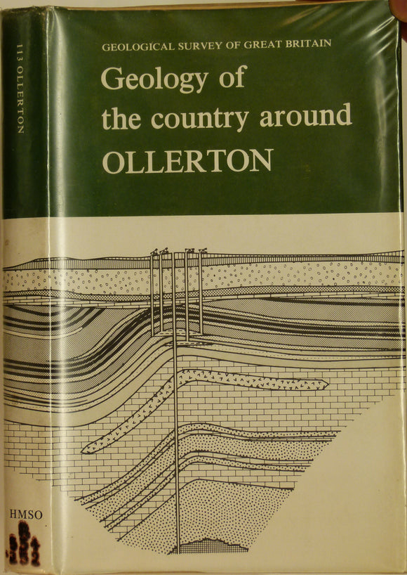 Sheet Memoir 113. Ollerton, by Edwards, WN. et al. 1967, 2nd edition.