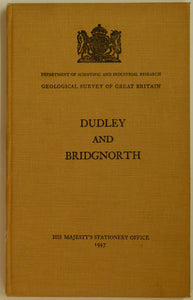 Sheet memoir 167, Dudley and Bridgenorth, 1947, by TH Whitehead and RW Pocock.