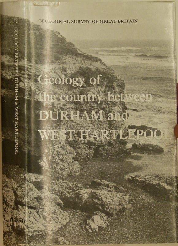 Sheet Memoir 27. Durham, West Hartlepool, by DB Smith & EA Francis, 1967, 1st edition. 354 pp.