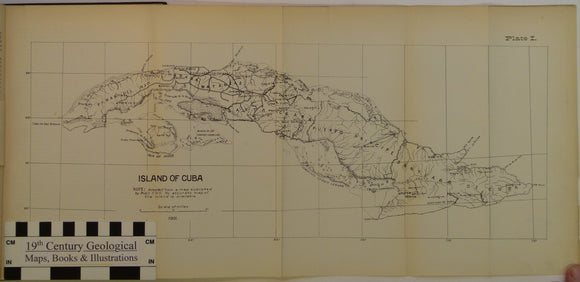 Hayes, W.H. et al, 1901. Report on a geological reconnaissance [sic] of Cuba. Publ by USGS, 123 pp. + 29 photographic plates
