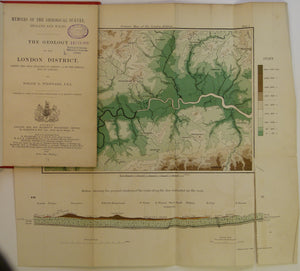 Woodward, H.B. 1909. The Geology of the London District (being the area included in the Sheets 1 – 4 of the Special Map of London) 1st edition.