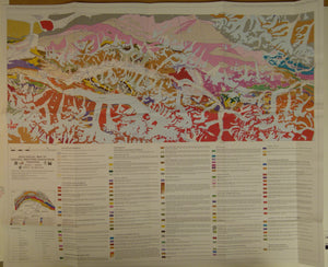 Zanchi, A. & Gaetani, M. 2011, Geological Map of the Central-Western Karakoram, Pakistan, in east and west parts, each 1:100,000 scale,