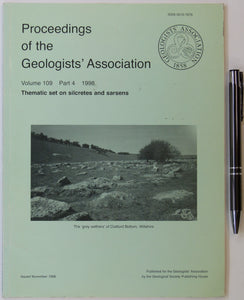 Geologists' Assoc. (1998). 'Thematic set on Silcretes and Sarsens, in Proceedings of the Geologists' Association, v.109,