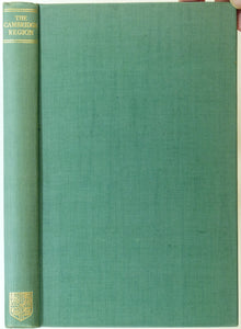 Darby, H.C. (ed) (1938). The Cambridge Region. Cambridge University Press. 234pp. HB,