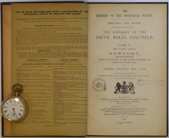 Sheet Memoir 249. Newport (Geology of the South Wales Coalfield, part I), by Strahan, A. 1899. First edition.