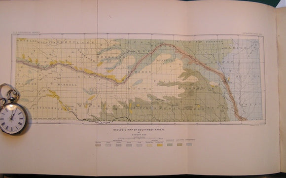 Geologic Map of Southwest Kansas in