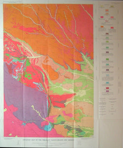 Geologic Map of the Philmont Ranch Region, 1964