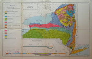 Landforms and Bedrock Geology of New York State, 1969