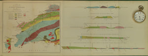 Wales South 1875. <em>Geological Map of the Neighbourhood of St David's, Pembrokeshire</em>, colour