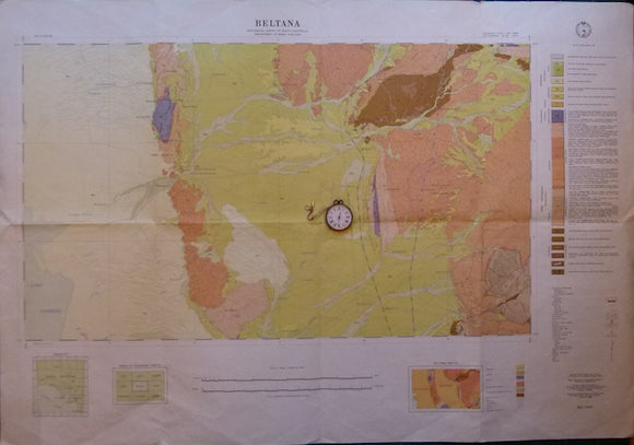 Beltana, SA. Sheet 696, zone 5, 1966, scale 1:63,360.