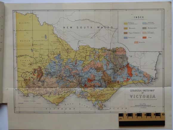 Geological Sketch Map of Victoria, 1895
