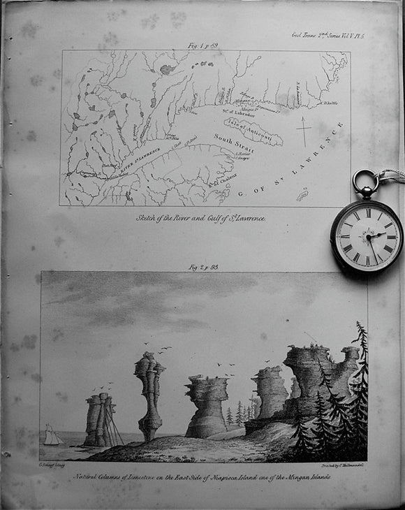 Sketch of the River and Gulf of St.Lawrence, 1833