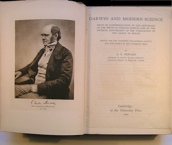 Darwin and Modern Science; Essays in Commemoration of the Centenary of the Birth of Charles Darwin and of the Fiftieth Anniversary of the Publication of the Origin of Species